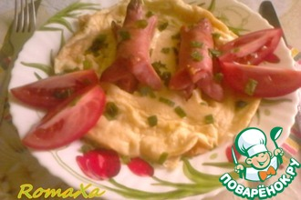 Рецепт: Завтрак Жаба в норке