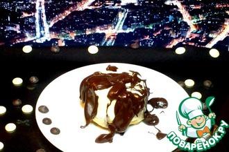 Рецепт: Пудинг в белом шоколаде
