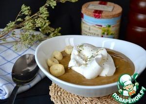 Рецепт Велюте из сушеных белых грибов