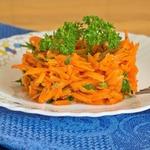 Морковный салат Кнутом и пряником