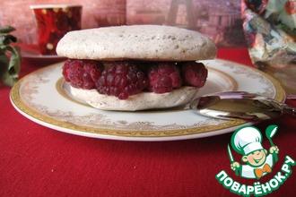 Рецепт: Пирожное белый Исфахан