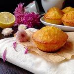 Лимонные кексы с карамелью