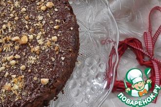 Рецепт: Пирог Два шоколада