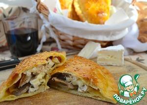 Рецепт Пирожки с курицей и шампиньонами