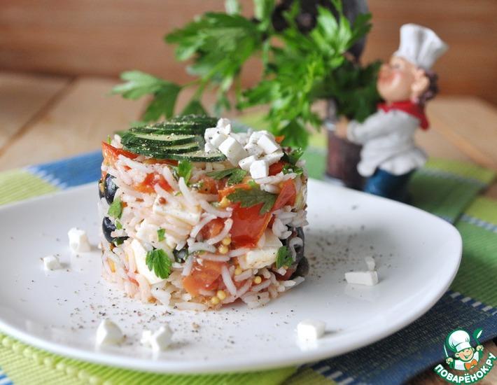 Рецепт: Теплый Греческий салат