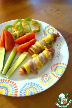 Рецепт Быстрый завтрак для мужчин