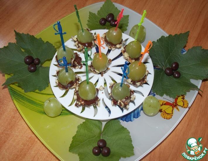 Рецепт: Виноградный десерт