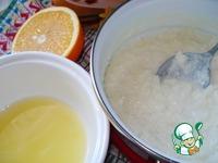 Каша а-ля пудинг из рисовых хлопьев ингредиенты