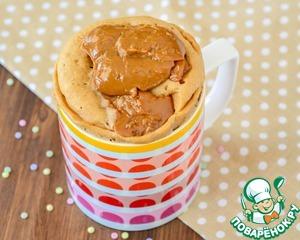 Постный карамельно-медовый кекс – кулинарный рецепт