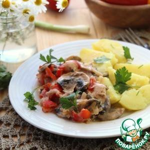 Рецепт Гуляш из грибов