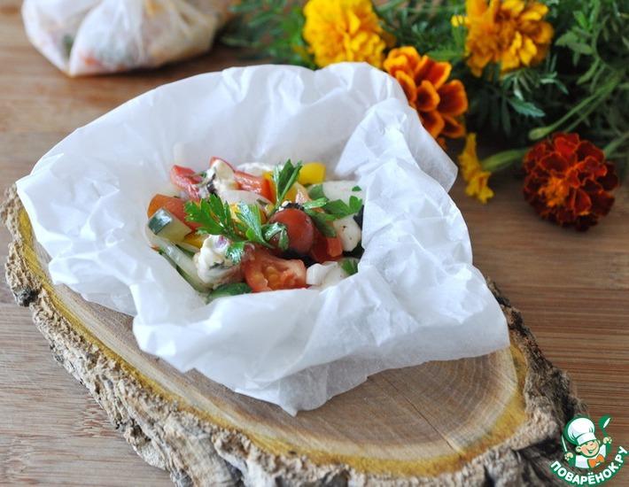 Рецепт: Тёплый салат Фермер