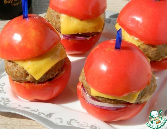 Рецепт: Томатный бургер