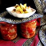 Салат из огурцов Грузинский