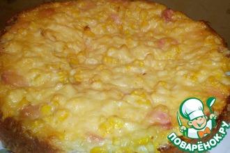 Рецепт: Пирог из кабачка Ароматный