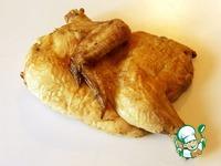 Холодная копченая курица в духовке ингредиенты