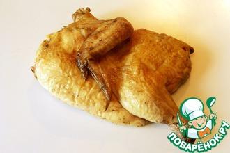 Рецепт: Холодная копченая курица в духовке