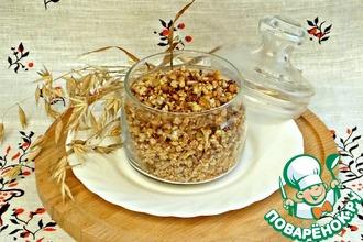 Рецепт: Мюсли с зеленым чаем для малышей