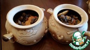 Рецепт Деруны в горшочке с грибами + рецепт