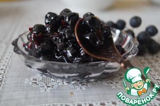 Рецепт: Варенье из черноплодной рябины в СВЧ
