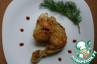 Рецепт: Курица в фольге