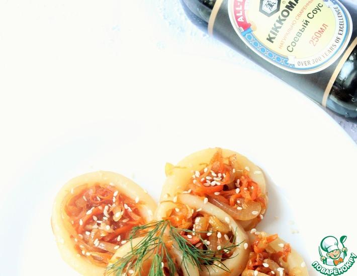 Рецепт: Кальмары по-сибирски