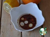 Тёплый салат из куриной печени и яблок ингредиенты
