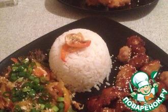Рецепт: Курица по-китайски со сладким соусом Чили