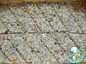Овсяно-песочные батончики с яблоками – кулинарный рецепт