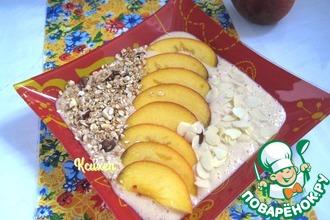 Рецепт: Смузи Персиковый пирог