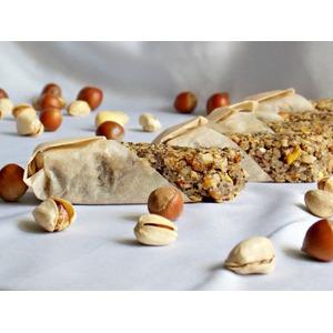 Овсяно-ореховые батончики с маком
