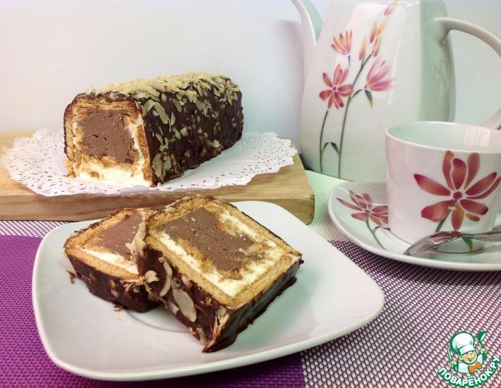 Рецепт: Десерт Творожный трюфель
