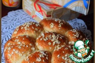 Рецепт: Отрубной хлеб Ромашка