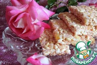 Рецепт: Рисовые батончики Хрустики