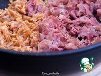 Бургер с тушеной свининой ингредиенты