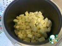 Картошка с кабачками в мультиварке ингредиенты
