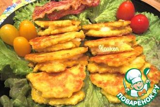 Рецепт: Кукурузные блины Качапа