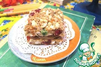 Рецепт: Батончики-мюсли Сэндвичи с карамелью