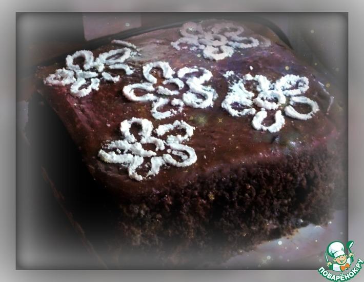 Рецепт: Торт шоколадный Пеле