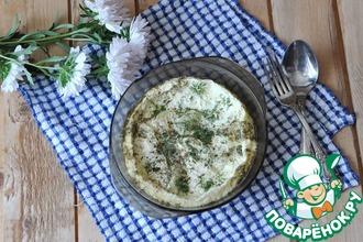 Рецепт: Картофель по-швейцарски в микроволновке