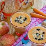 Морковно-имбирный смузи Полезная осень
