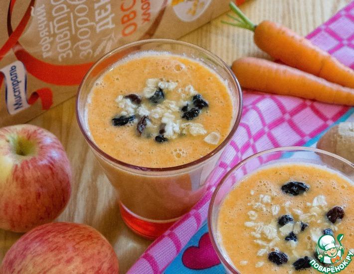 Рецепт: Морковно-имбирный смузи Полезная осень