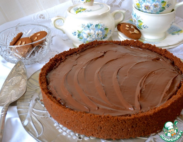 Рецепт: Шоколадный пай Грязь Миссисипи