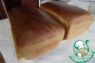 Рецепт: Хлеб с добавлением ржаной муки