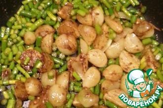 Рецепт: Рагу из кабачков и чечевицы