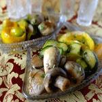 Овощи, маринованные в лимонном соке