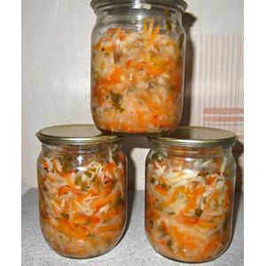 Салат из редьки на зиму