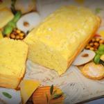 Кукурузно-сырный пирог-кекс