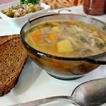 Диетический капустный суп