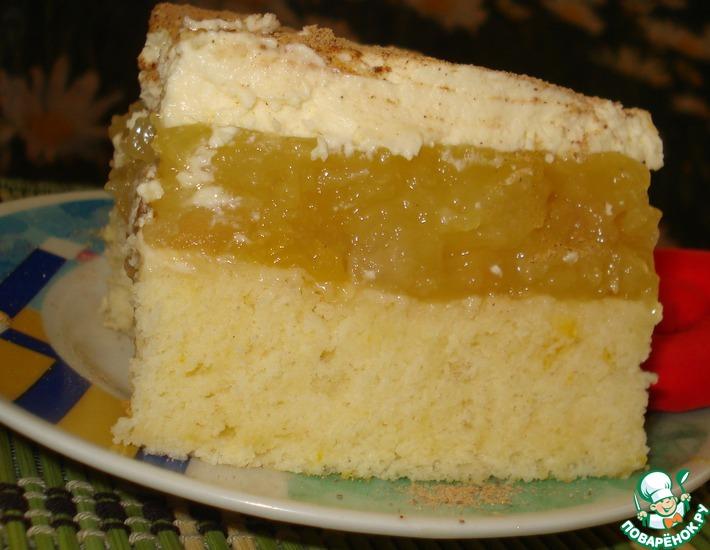 Рецепт: Югославский яблочный пирог