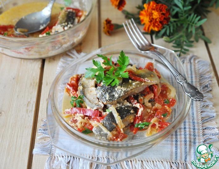 Рецепт: Тушёная рыба А-ля Мокека в микроволновке